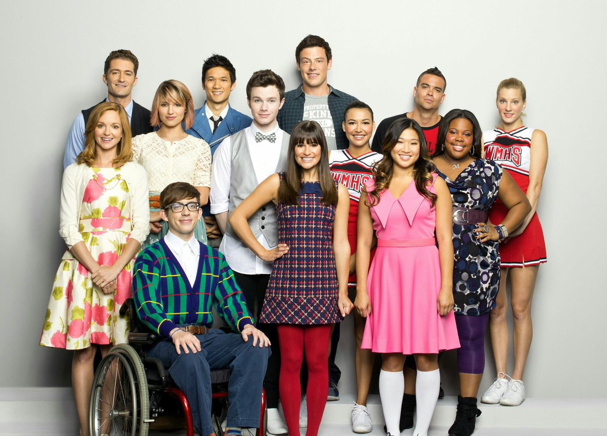'glee will never end because we are the...
