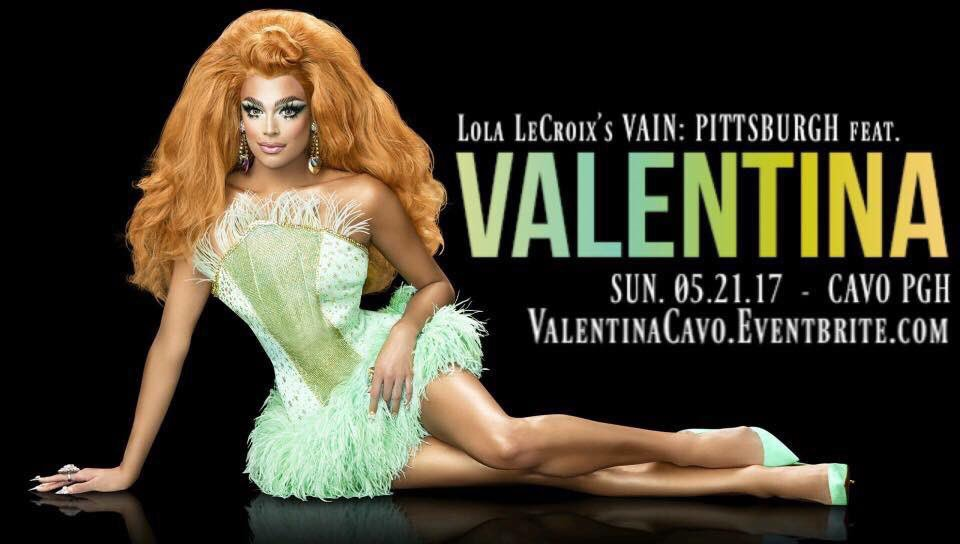 This Sunday night I will see u Pittsburgh at Vain with @LolaLeCroix 💕...
