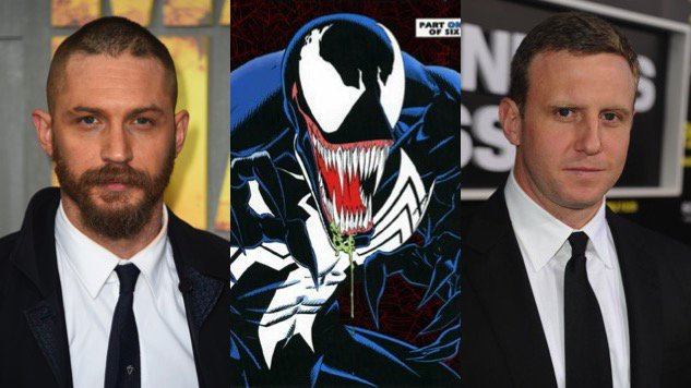 Tom Hardy is starring in the #Venom movie: https://t.co/kIJ9Xv3A56