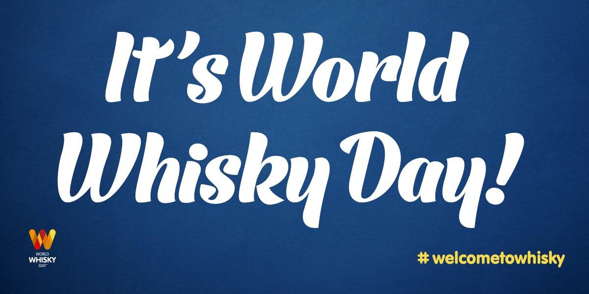 Raise a dram, it's #WorldWhiskyDay! #WelcometoWhisky https://t.co/yuwxVbRIoa