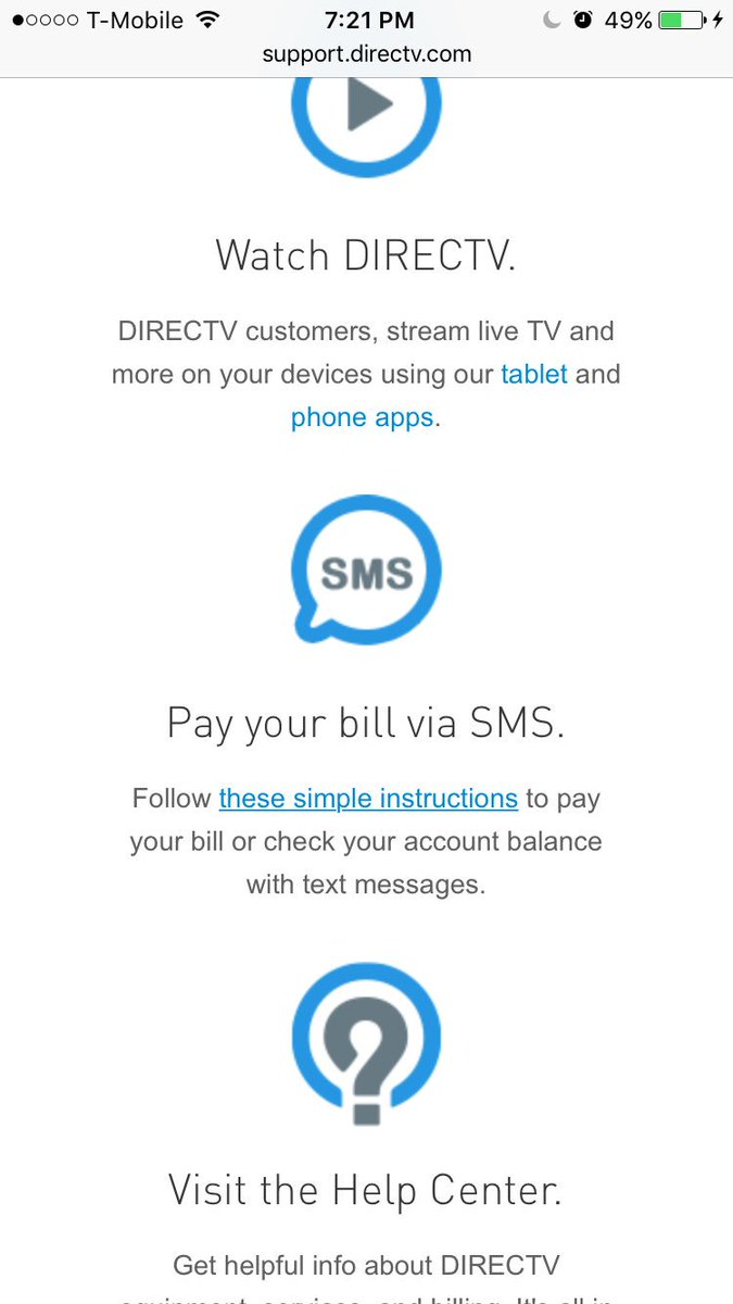 "mike deissig on twitter: ""@directv ur landing pages aren't wrkng"