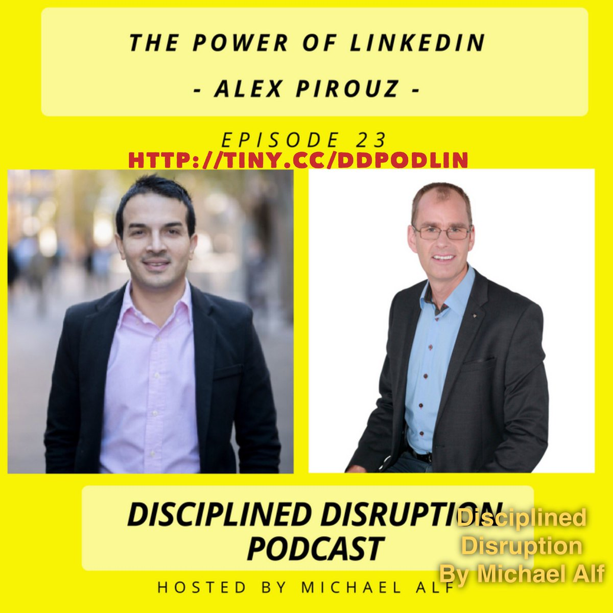 Want to leverage #linkedin ? Learn from #CEO Linkfluencer @AlexPirouz  http:// tiny.cc/ddpodcast  &nbsp;   #Podcast #Digitaldisruption<br>http://pic.twitter.com/Nb9r5iNZht
