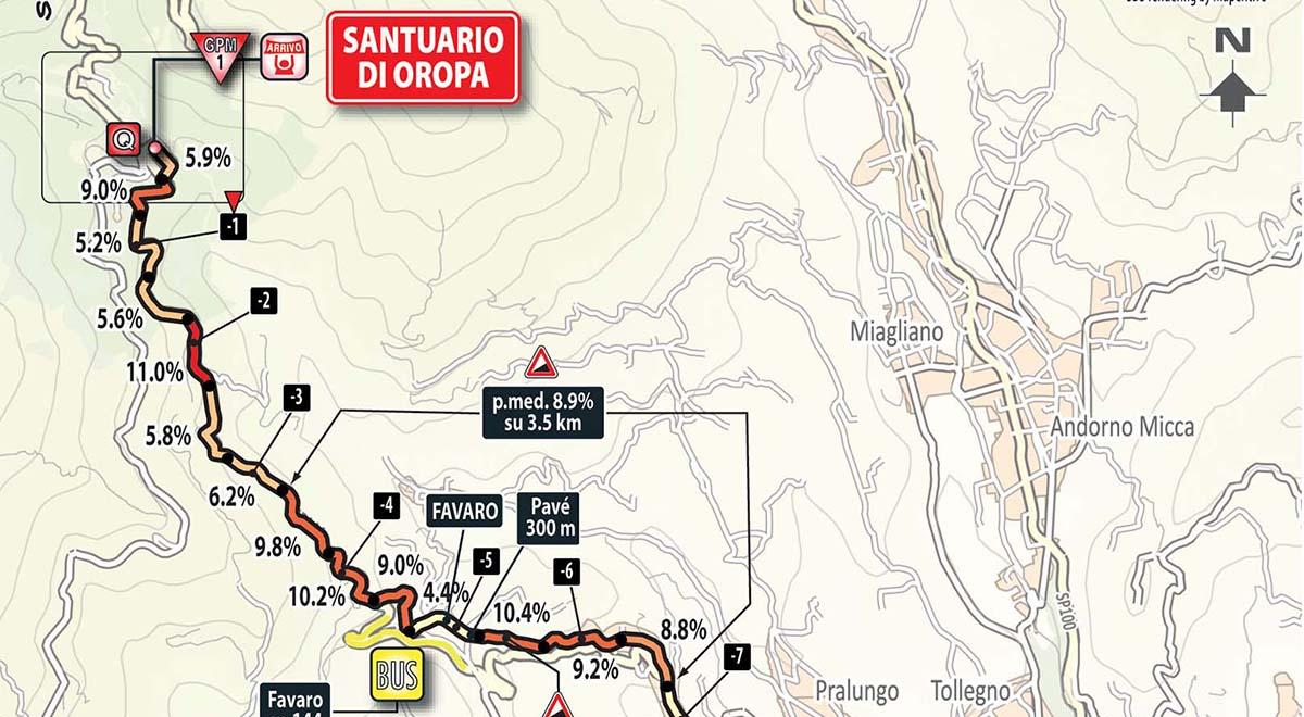 DIRETTA GIRO: Castellania Oropa (Montagna Pantani) Streaming LIVE Rai Tappa 14