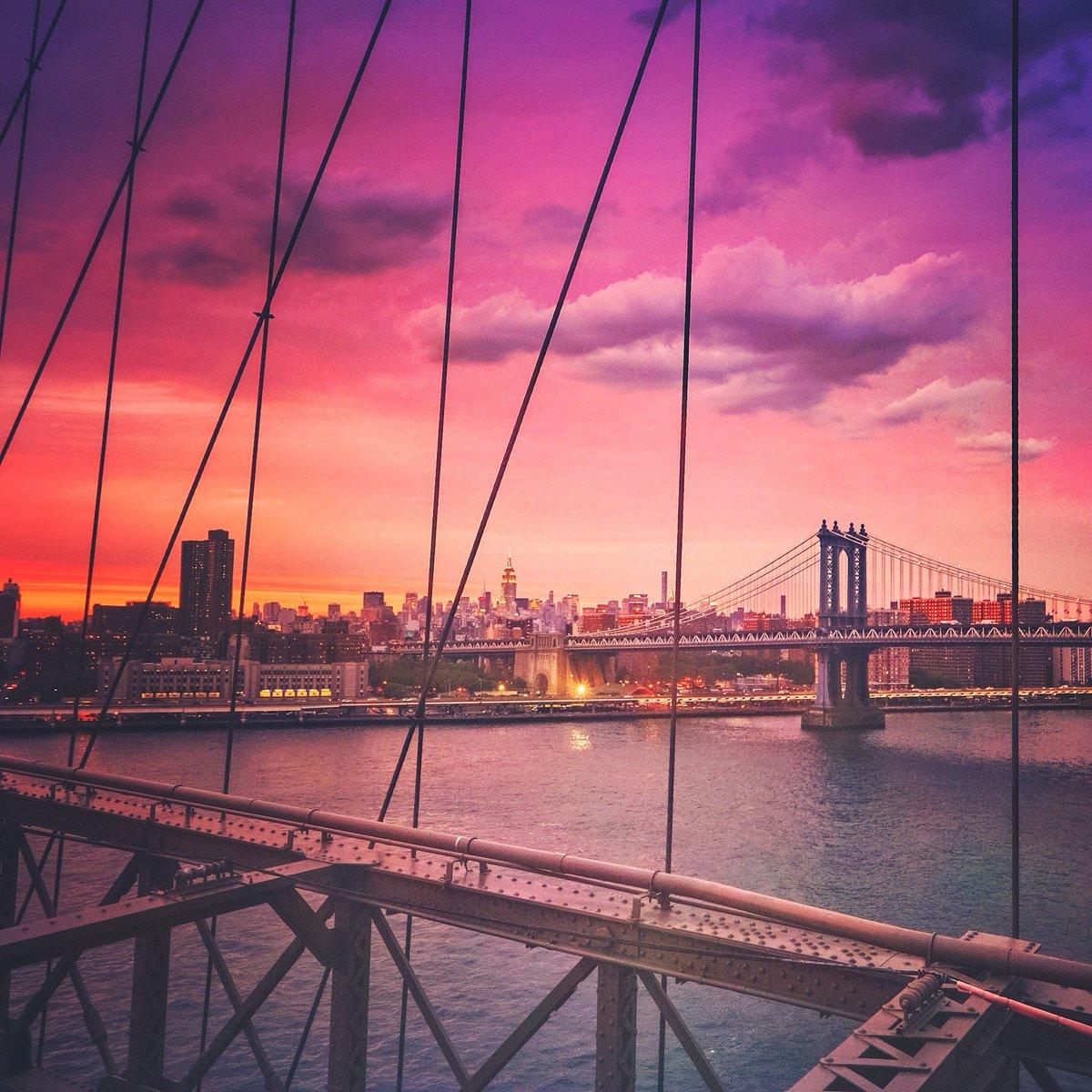 Manhattan Bridge by @travelinglens #newyork #nyc<br>http://pic.twitter.com/B5evoHsIg0