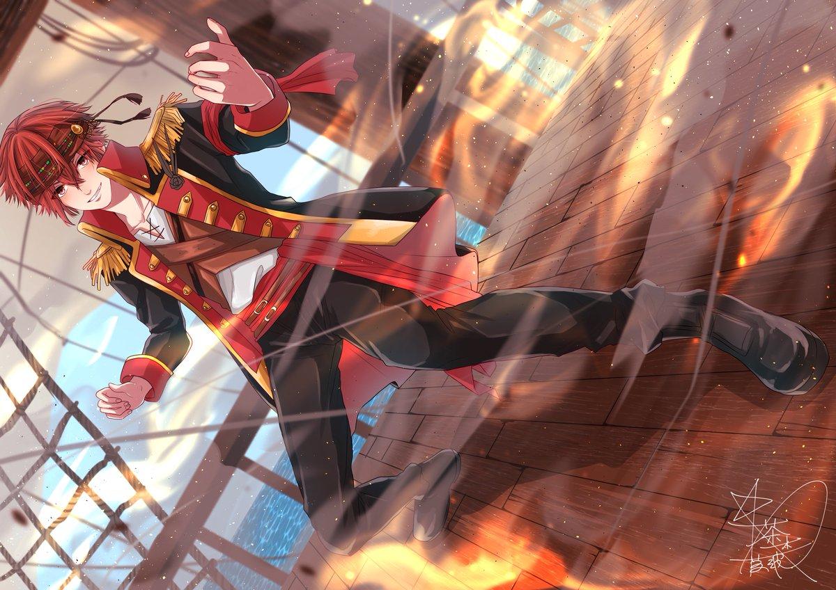 """茶木藍波? on twitter: """"海賊坂田さん!!!? 戦闘シーン!めっちゃ"""