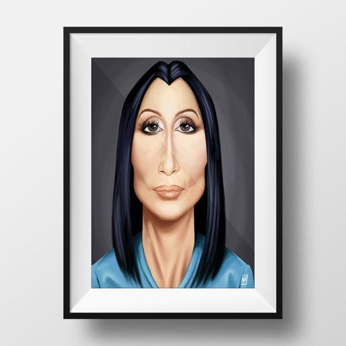 Happy Birthday, Cher!  copyright © Rob Snow | creative 2017  Shop here: