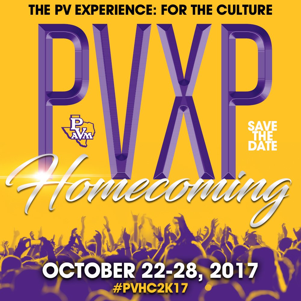 Save the Date #PVHC2K17  October 22-28, 2017  The PV Experience: For The Culture https://t.co/TpDAQgfVrW