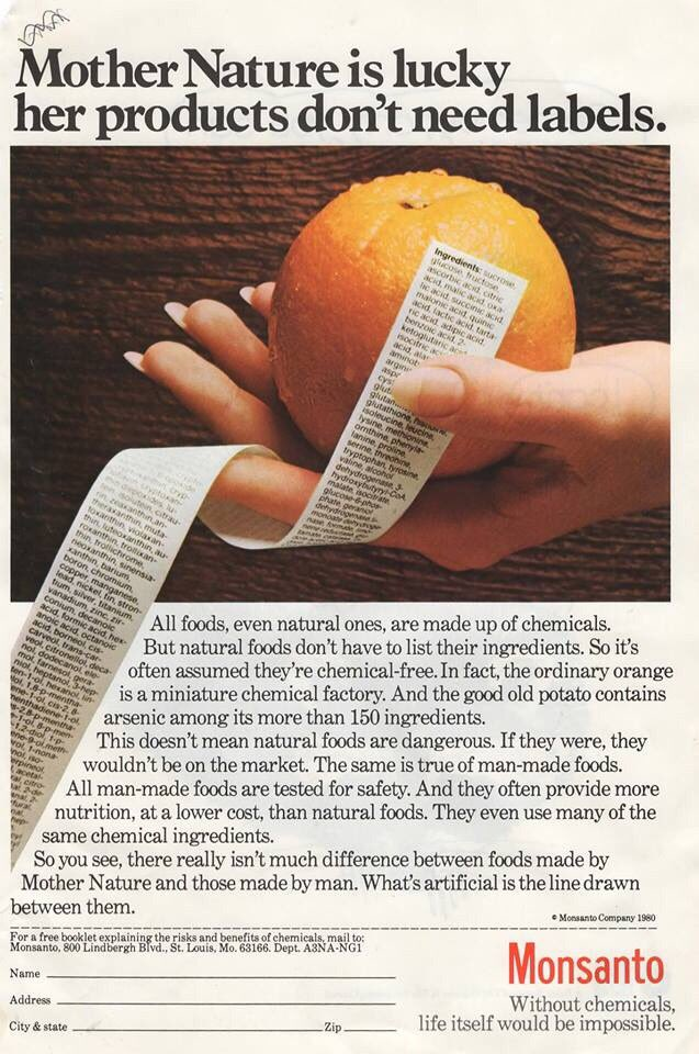 #Monsanto ad in the 1980 National Geographic, time when it communicated boldly to public https://t.co/lrN70NeLrJ