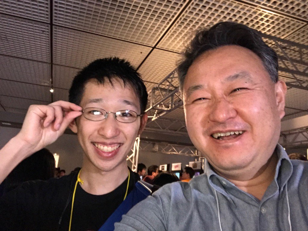 Recognize this man? @Shinogu himself finally in Japan! #BitSummit http...
