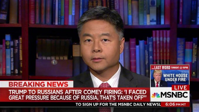 Rep. Ted Lieu: Trump obstructed justice https://t.co/w7xoIYG0x0