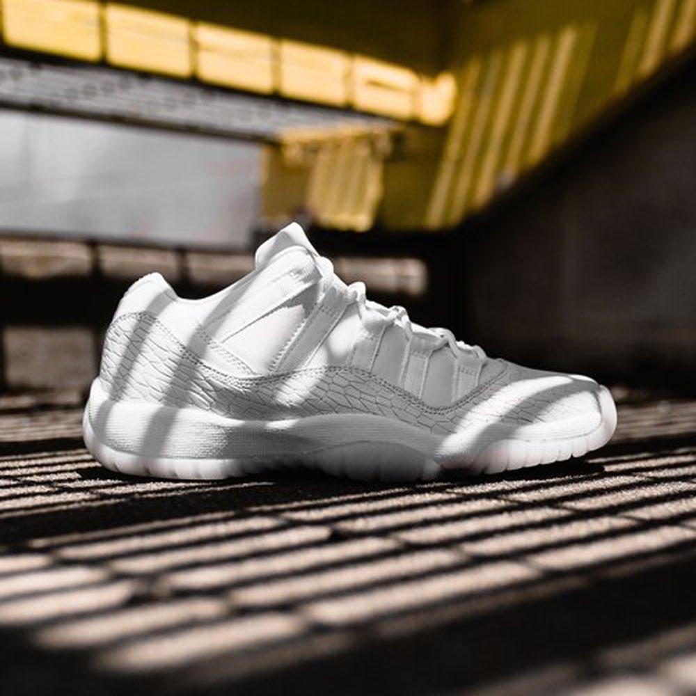 hot sale online 3c3c0 c3651 Nike Air Jordan 11 RET Low PR HC GG (897331-100) Heiress Frost White New  Arrival ...