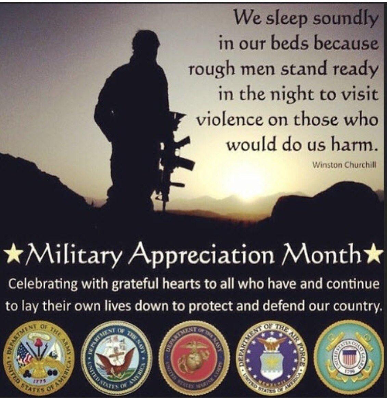 #MilitaryAppreciationMonth #FreedomAintFree   #ArmedForcesDay #Brave men and women #protect.   @RafaelWrites @USAMilitaryUSA  <br>http://pic.twitter.com/PK5Eyx9mmr