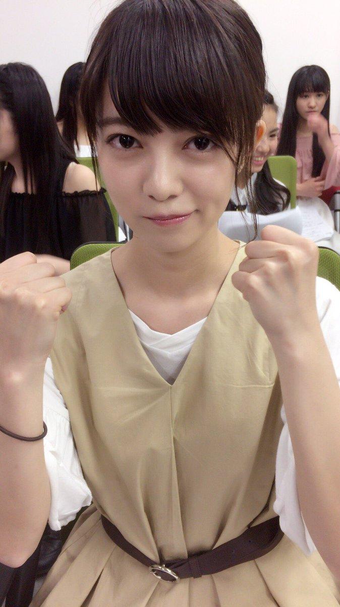 初めてのMC、頑張っています😊! #SHOWROOM #STU48 #田中皓子
