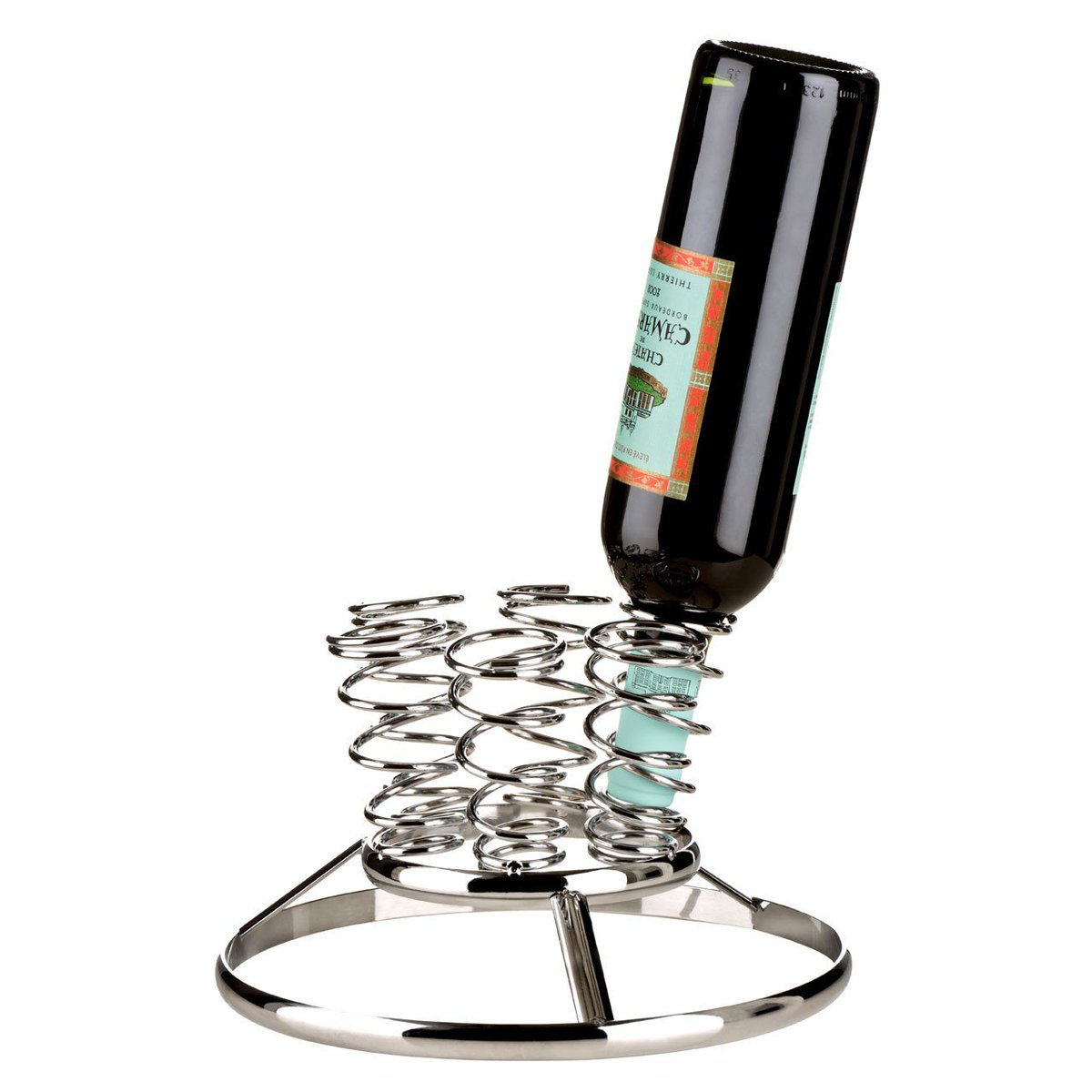 This #CHROME #FINISH #WINE #RACK holds up to 6 #BOTTLES held upside down to create a #Abstract #Style @biglivinguk  http://www. bigliving.co.uk/furniture/stor ages/wine-racks/wine-rack-chrome-finish-6-bottle.html &nbsp; … <br>http://pic.twitter.com/UBiDOH3xft