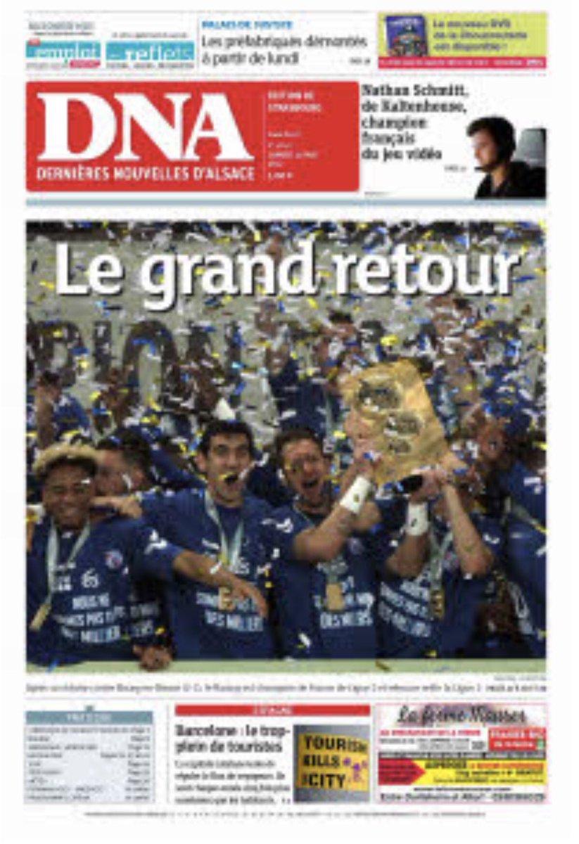 Le classement de Ligue 2, via la presse régionale.