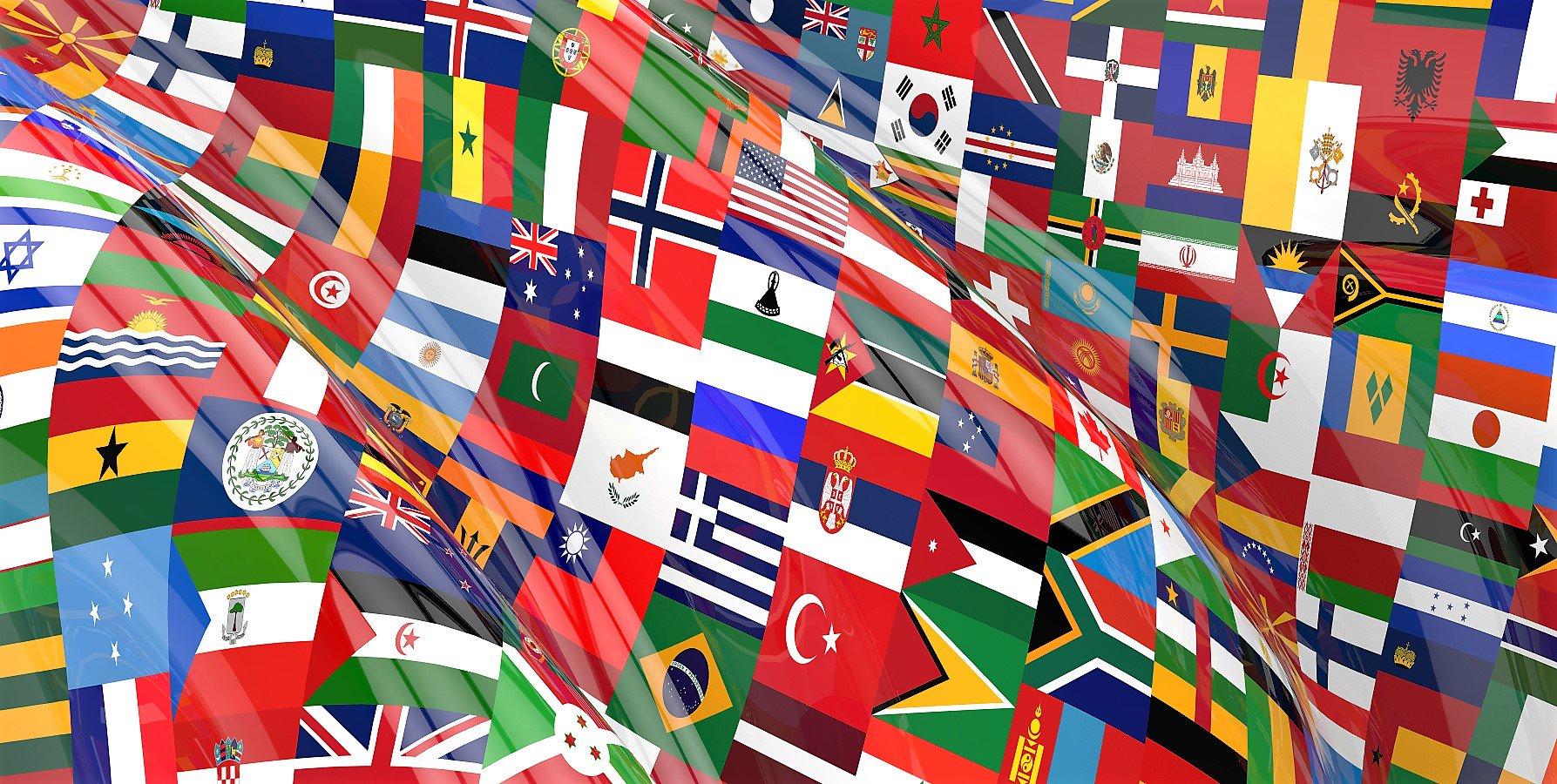 картинки со флагами при