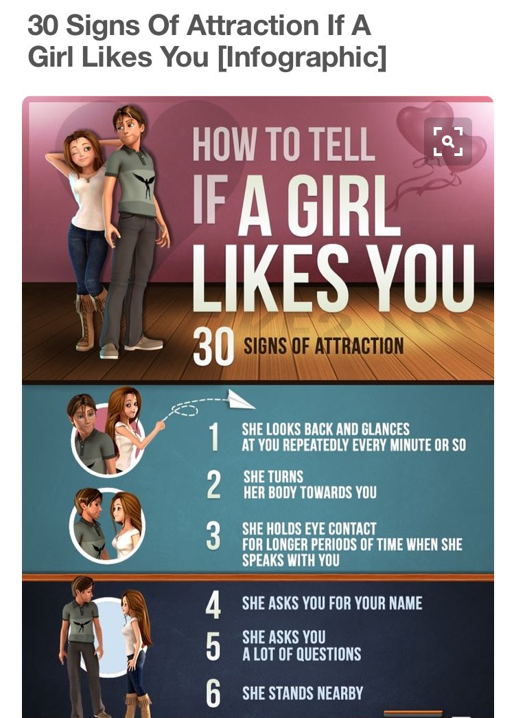 how to tell if girl likes you