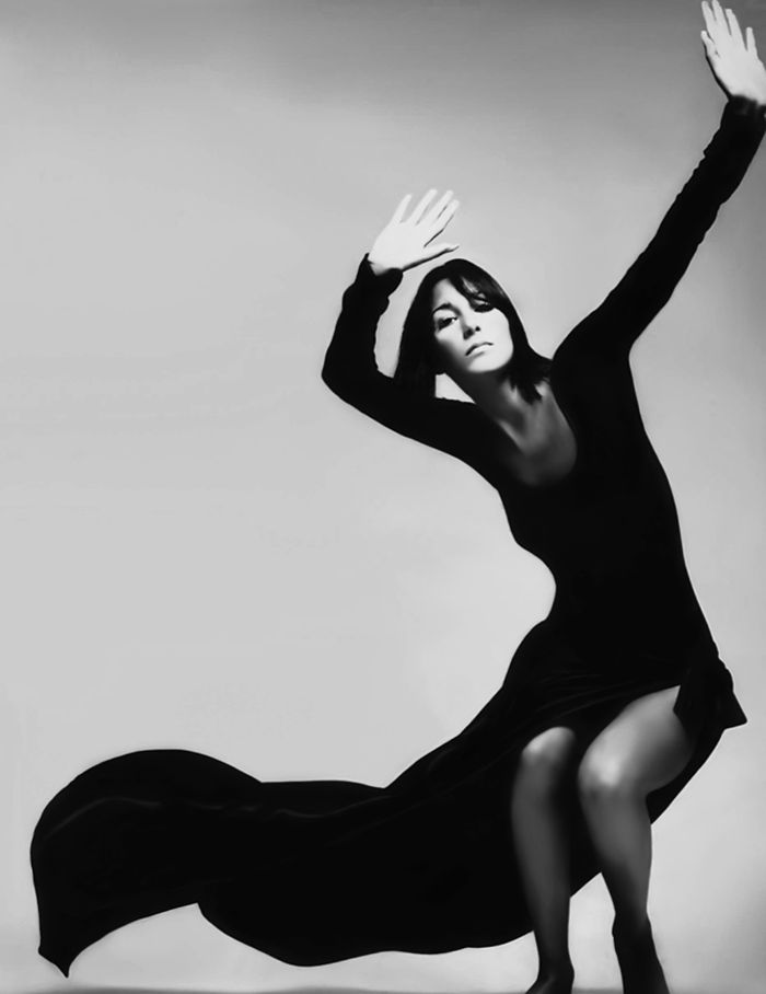 Happy birthday to Cher. Photo by Richard Avedon, 1969.