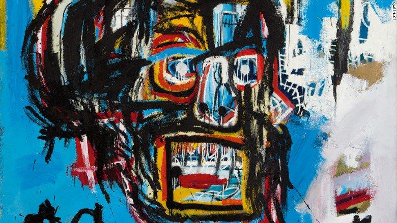 Basquiat tops Warhol after painting sells for  $110.5 million https://t.co/weB0oNjpiz https://t.co/LZHKDpR7Ap