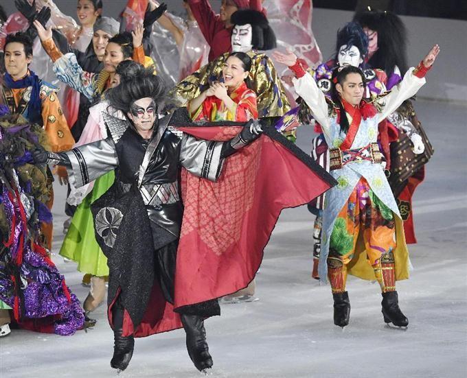 歌舞伎とフィギュア融合 史上初の氷上ショー開催 sankei.com/photo/story/ne……
