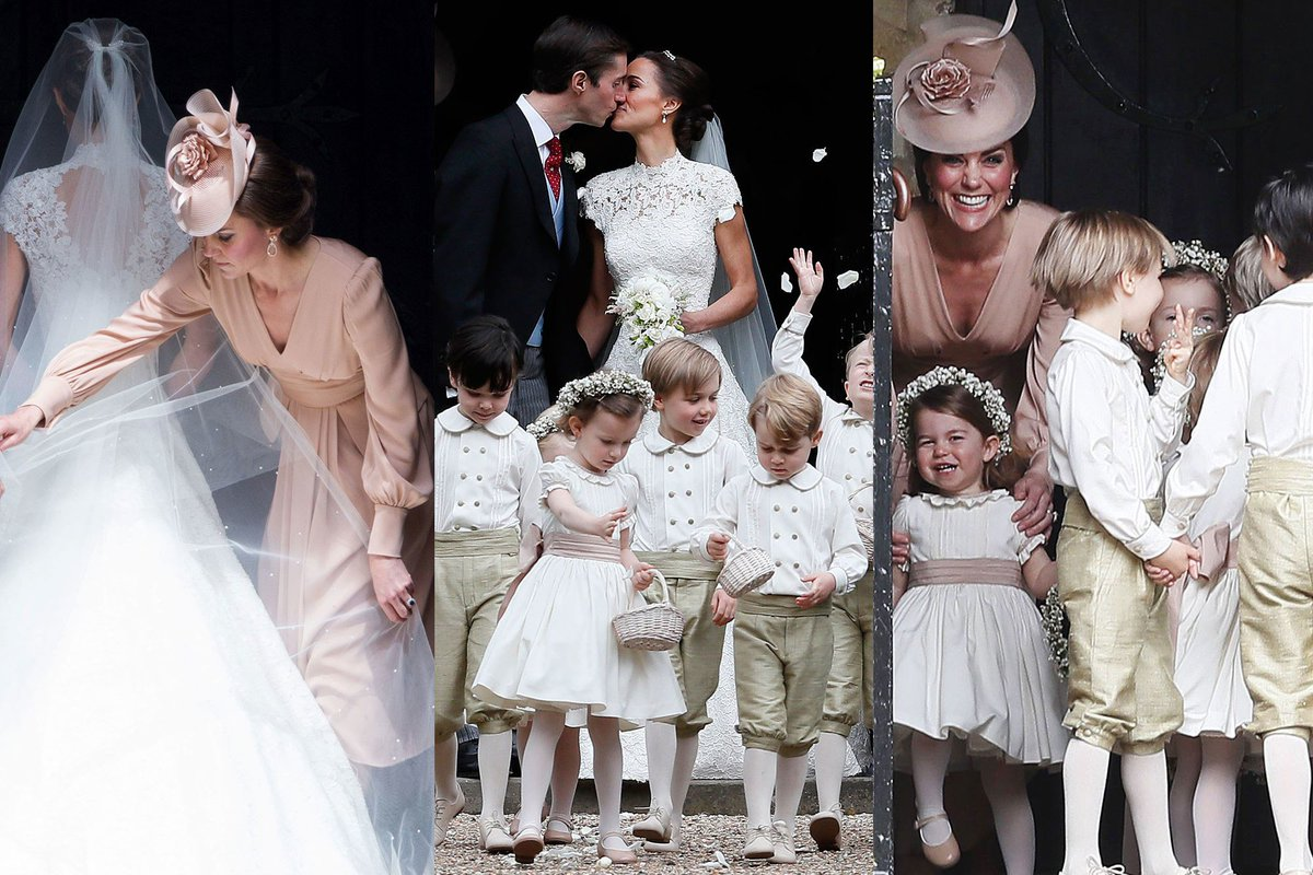 See all the photos from Pippa Middleton's wedding: Kate, George, Charlotte, and more http://vntyfr.com/nMWR2uI