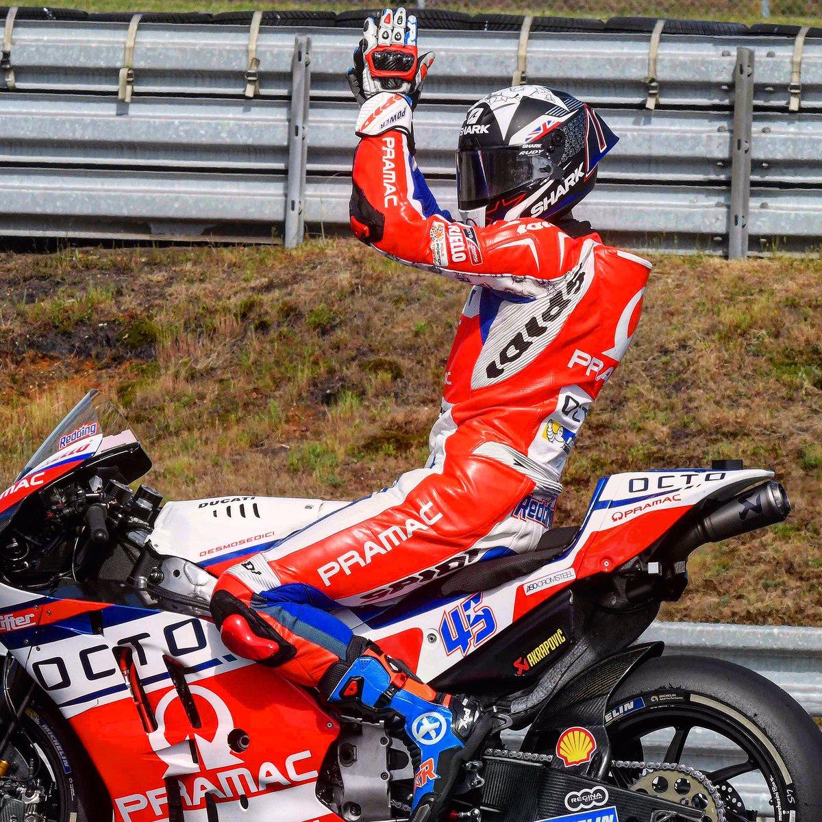 Enthusiasm @Reddingpower #FrenchGP @MotoGP @pramacracing #speed #bikes #bikers #race #ridetrue #spidiwarrior