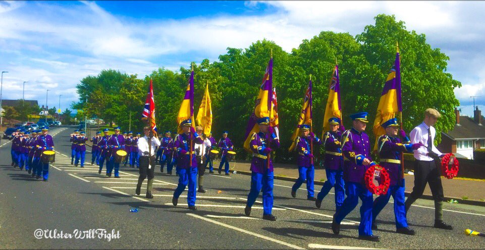Well done to all who organised, attended and supported the Ballysillan Memorial Parade today. #1 #D <br>http://pic.twitter.com/40xPDuFDmL