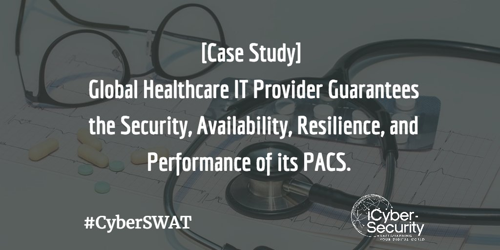 [Case Study] Healthcare IT Provider Guarantees the Security, Availability, Resilience &amp; Performance of its #PACS.  http:// buff.ly/2qGQWGb  &nbsp;  <br>http://pic.twitter.com/2h1n2tR3Dj