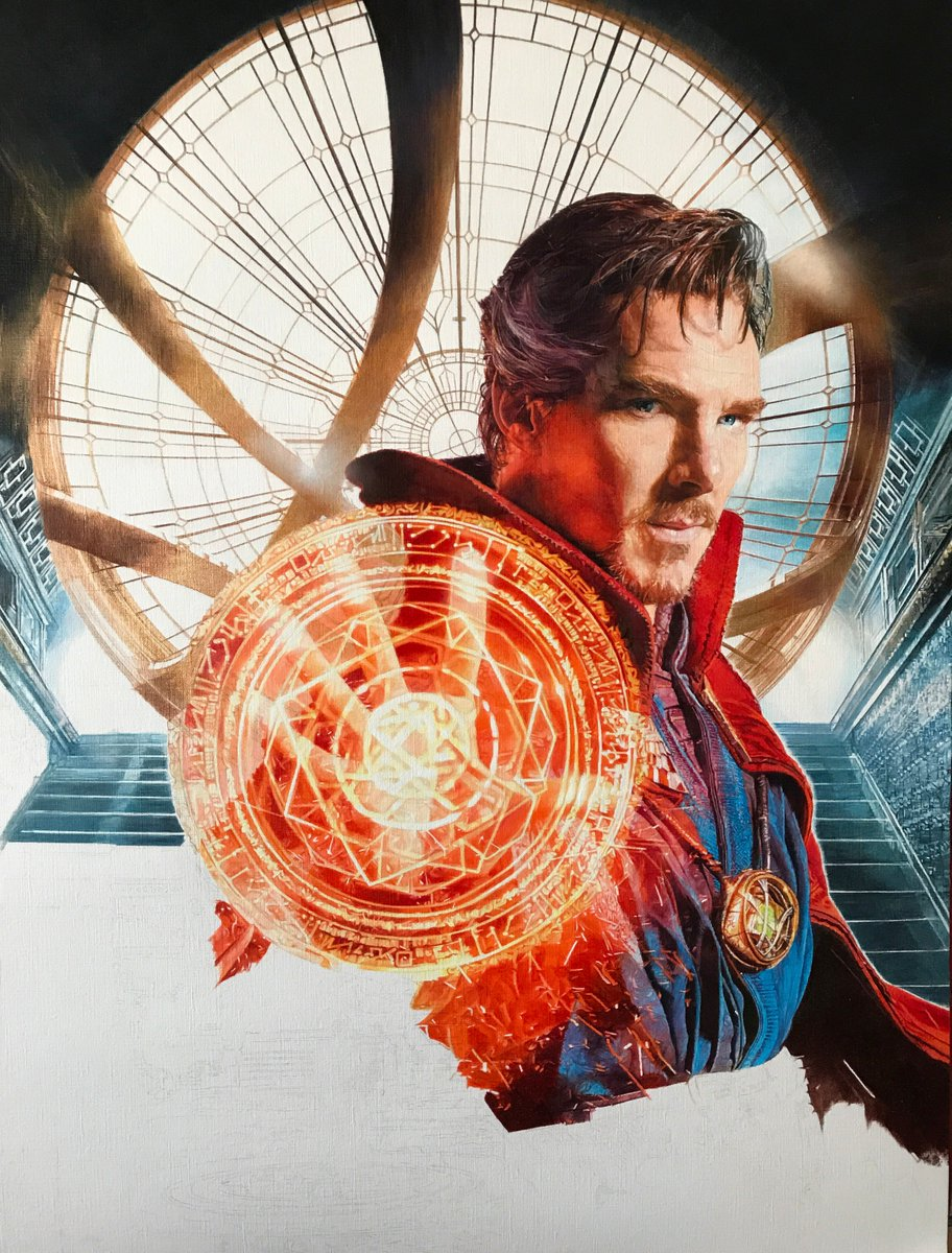 It is my birthday so  this is my gift to you:) Guess what scene I picked below @DrStrange to complete my poster? #DoctorStrange #movieposter <br>http://pic.twitter.com/SbjBlP4Co3