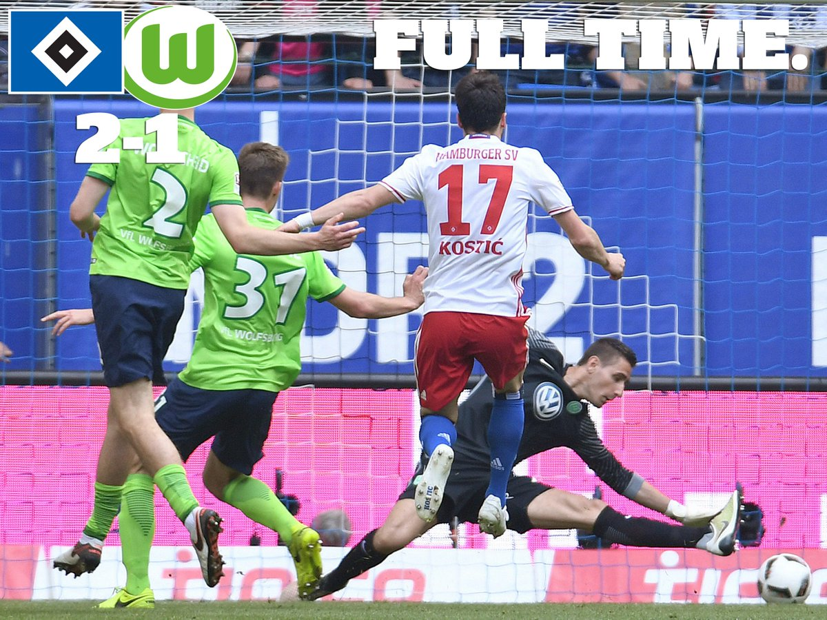 WE DID IT! WE&#39;RE STAYING IN THE #BUNDESLIGA! #HSVWOB<br>http://pic.twitter.com/E96JPNmuY4