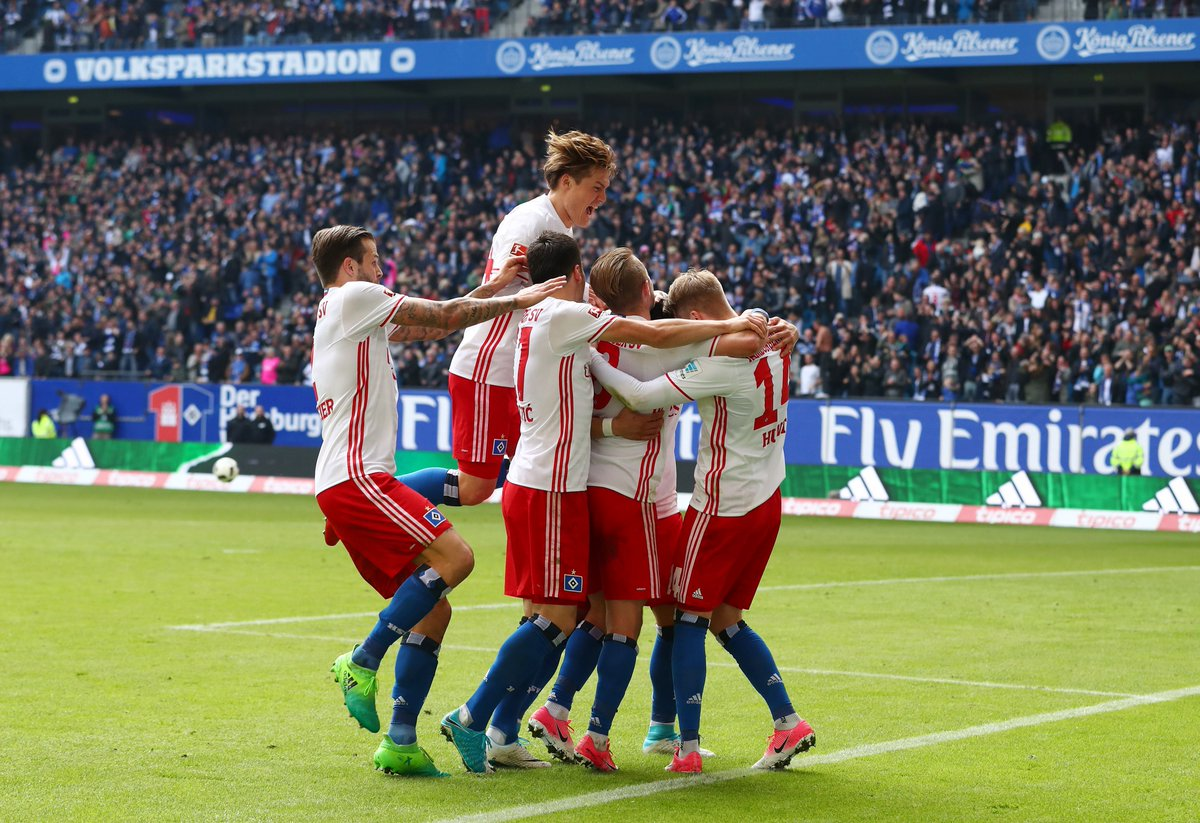 Hamburg are still the only original #Bundesliga team that has never been relegated from the division.  Another great escape.  <br>http://pic.twitter.com/HOCVm7Nfyd