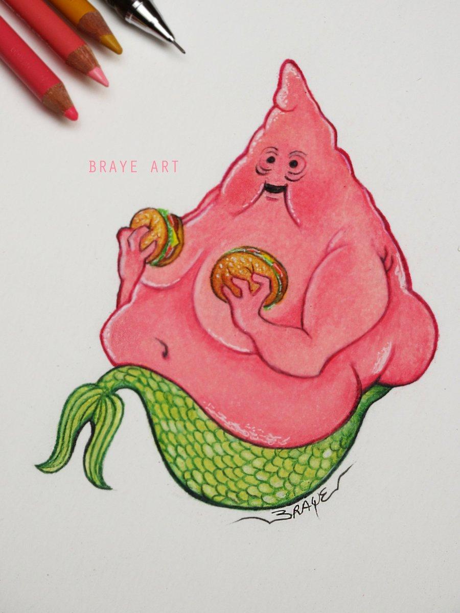Weird Food Drawing 11