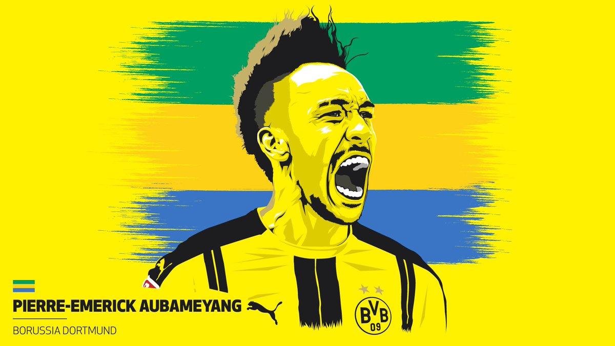 Congrats to @bvb&#39;s @Aubameyang7! The Gabonese marksman ends the season as #Bundesliga top scorer with 31 goals!  <br>http://pic.twitter.com/9e42tTZM4r