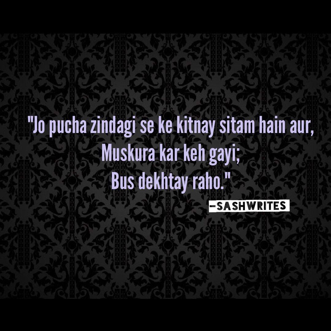 Sashwrites On Twitter Sashwrites Poetry Quotes Urdu Sad