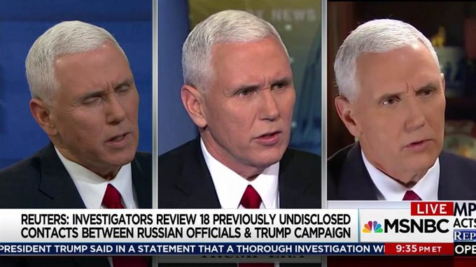 Maddow: Pence's false denials are stacking up: https://t.co/8UqGK2EIEV