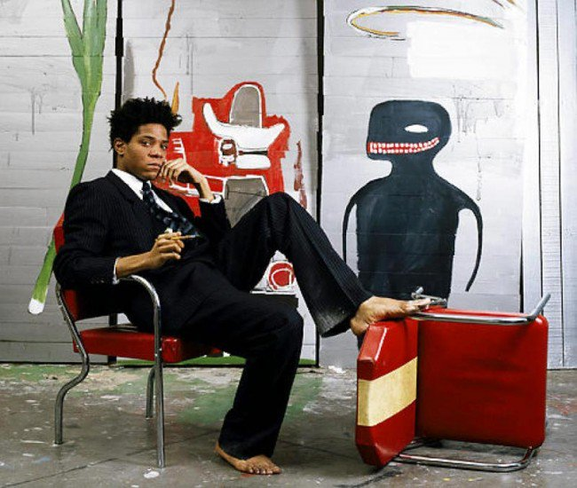 #Artist of the day: Jean-Michel #Basquiat who is credited with bringing #graffiti to the #fineart world of #painting. #artdaily #untitled<br>http://pic.twitter.com/h975OfQLCk