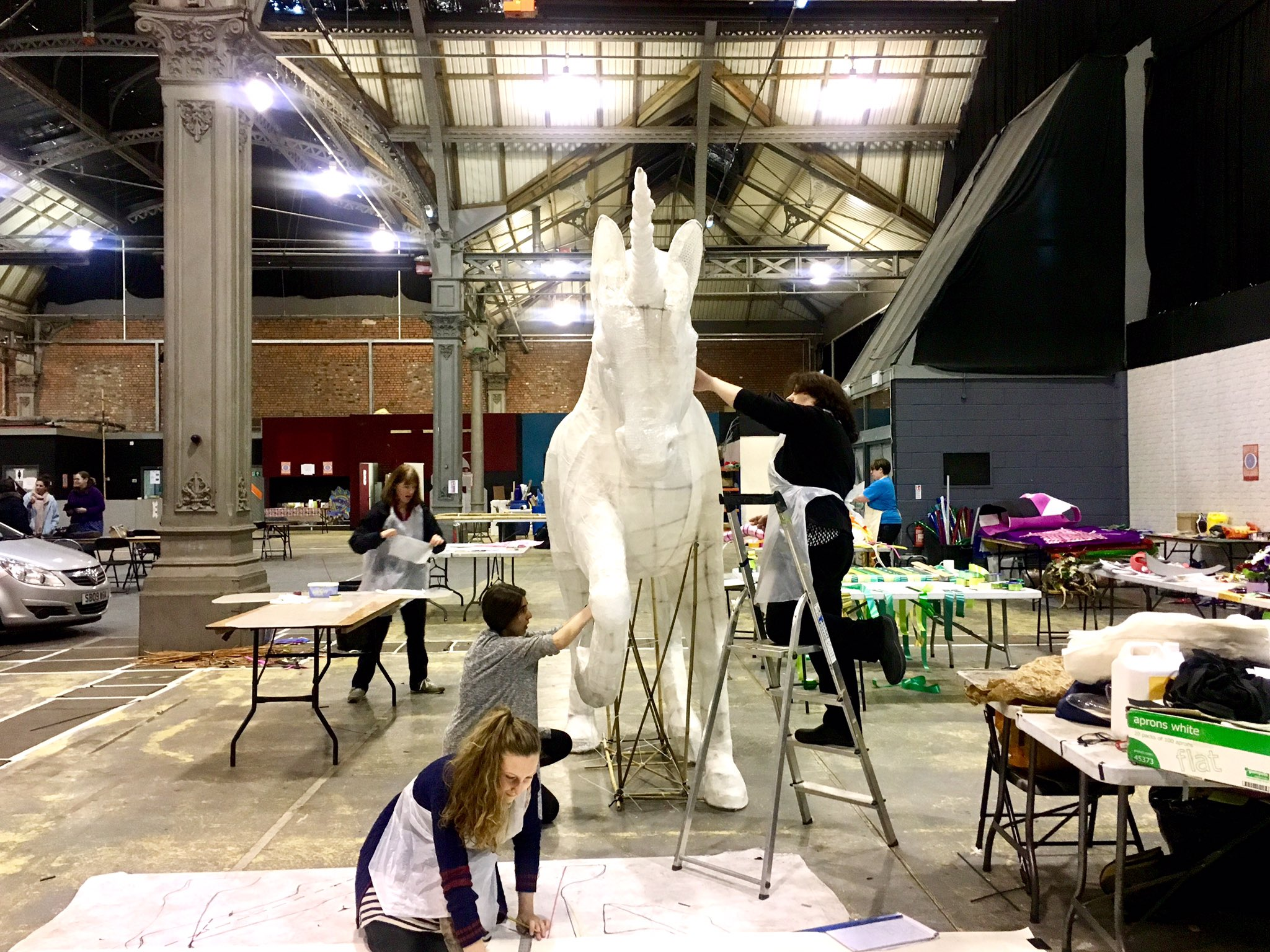 The WOW workshop is open today! #McrDay17 https://t.co/eEbef3CuXT