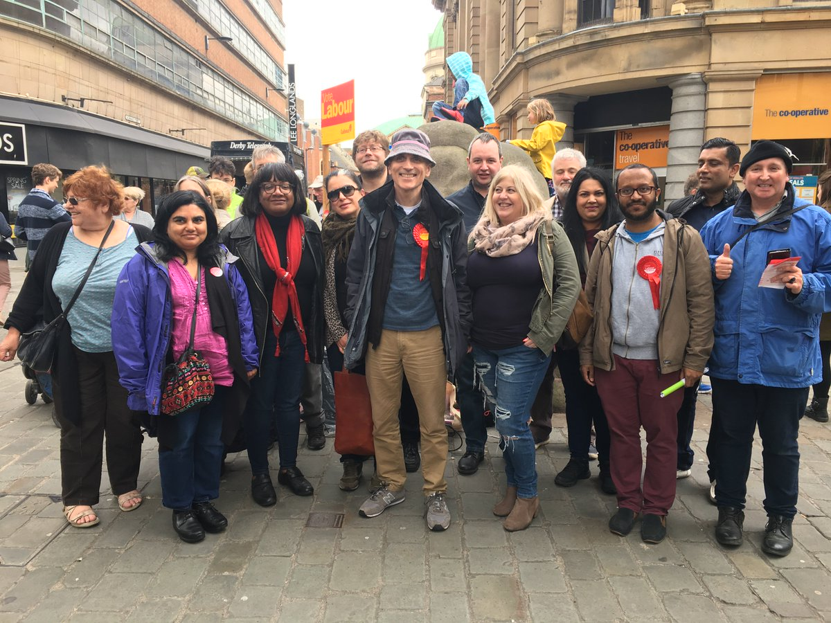 Out campaigning for Chris Williamson in Derby North @ChriswMP #Election2017 #labourdoorstep<br>http://pic.twitter.com/kBrPS1WiPS