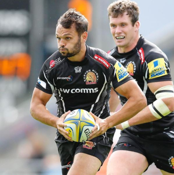 test Twitter Media - It's 1 hour until @ExeterChiefs kick off against @Saracens in the @premrugby semi-final! Good luck boys! #SamuraiFamily (📷Pinnacle) https://t.co/9AhjYDflpt
