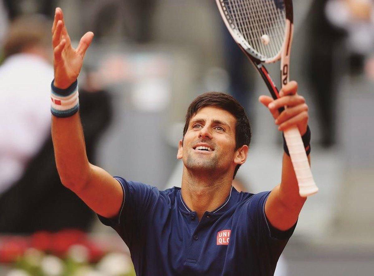 #Djokovic defeats #DelPotro 6-1 6-4 to setup a SF showdown with Dominic #Thiem  #tennis #tennisplayer #tennistime #lovetennis #ibi17<br>http://pic.twitter.com/81Nnp9dsVa