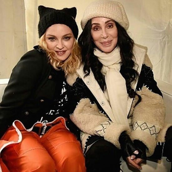 Happy birthday to the amazing diva    Here she is with at 2017 Women\s March