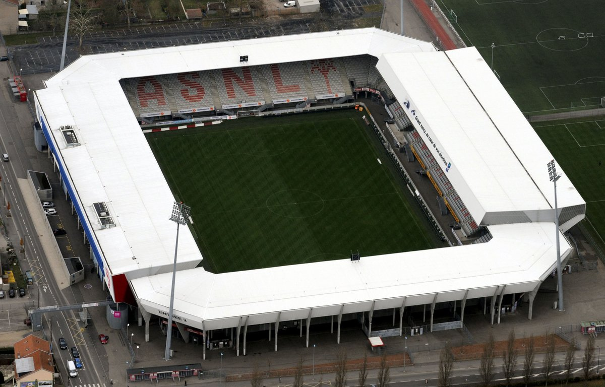 Stade Marcel Picot opened 1926 and holds 20,087. Home of #ASNL <br>http://pic.twitter.com/1gDPqF5pJQ