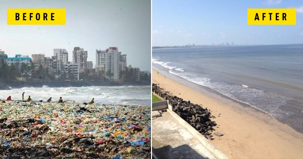 test Twitter Media - A wonderful story: Mumbai's Versova beach today, after one guy launched an 85 week effort to clean 5m Kg of rubbish https://t.co/P6d3aCIuoz https://t.co/aBJGmsAVVl