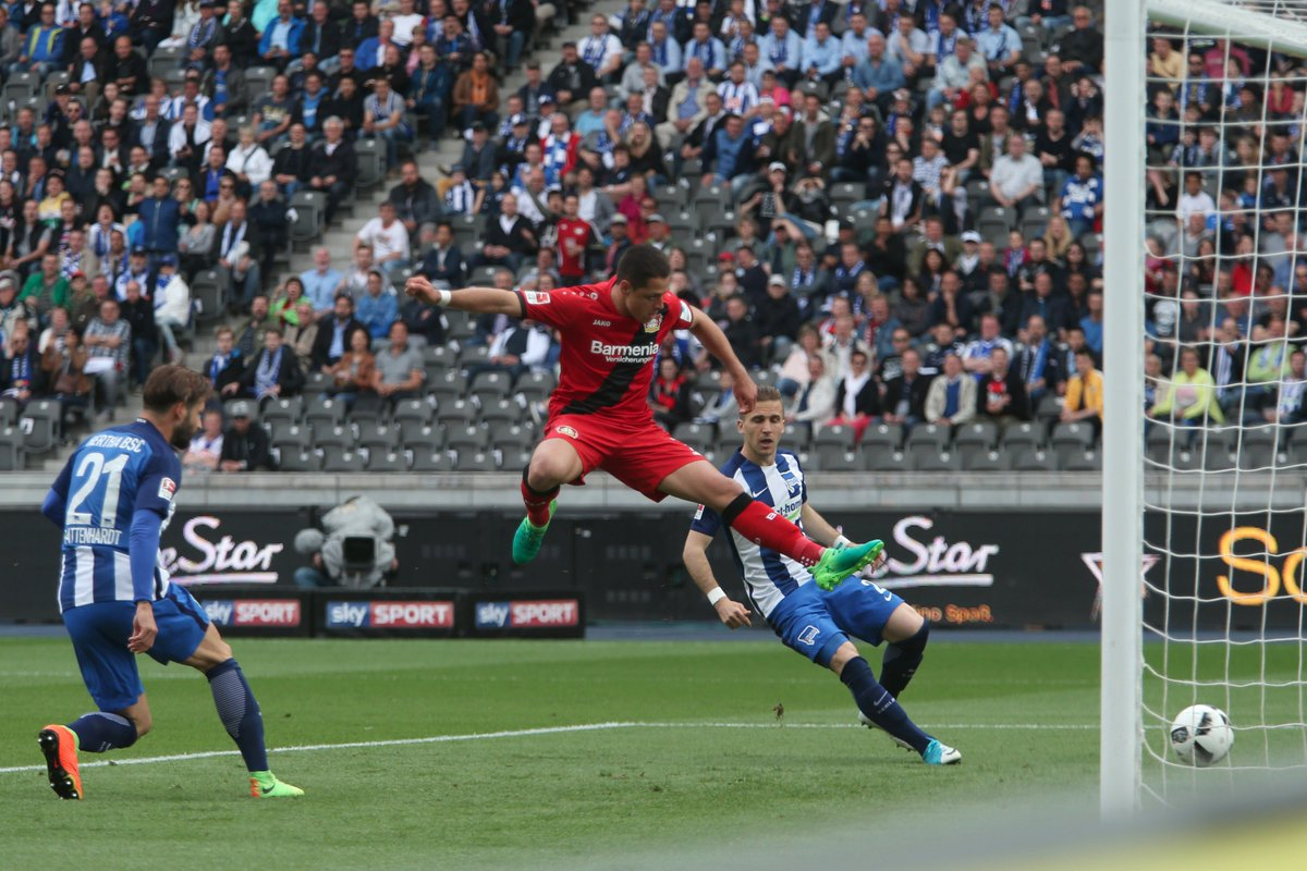 Hertha BSC 2-6 Bayer Leverkusen Highlights