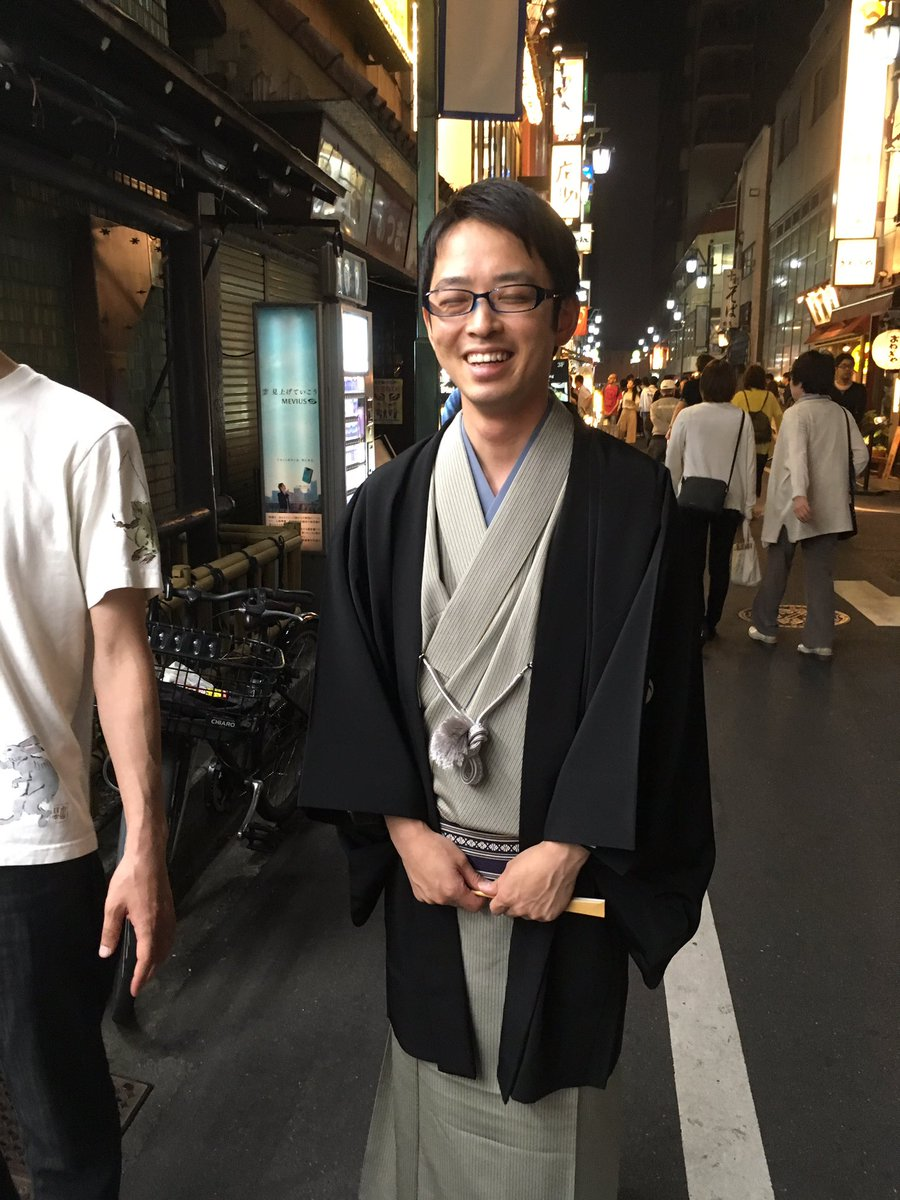 "kon sur Twitter : ""2017年05月06日(土) 深夜寄席 祝!三遊亭伊織 初 ..."