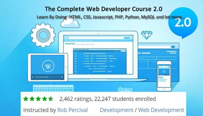 Build #websites #real #mobile #apps w/ The Complete #WebDeveloper #Course 2.0 on #udemy for $10 #webdesign #gamedev  http:// crwd.fr/2rCVwld  &nbsp;  <br>http://pic.twitter.com/7a5S4GiYJD