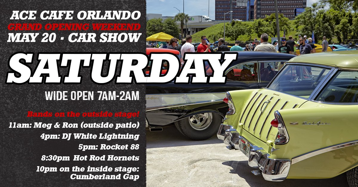 Ace Cafe USA On Twitter Dont Forget To Follow Us At - Car show orlando classic weekend