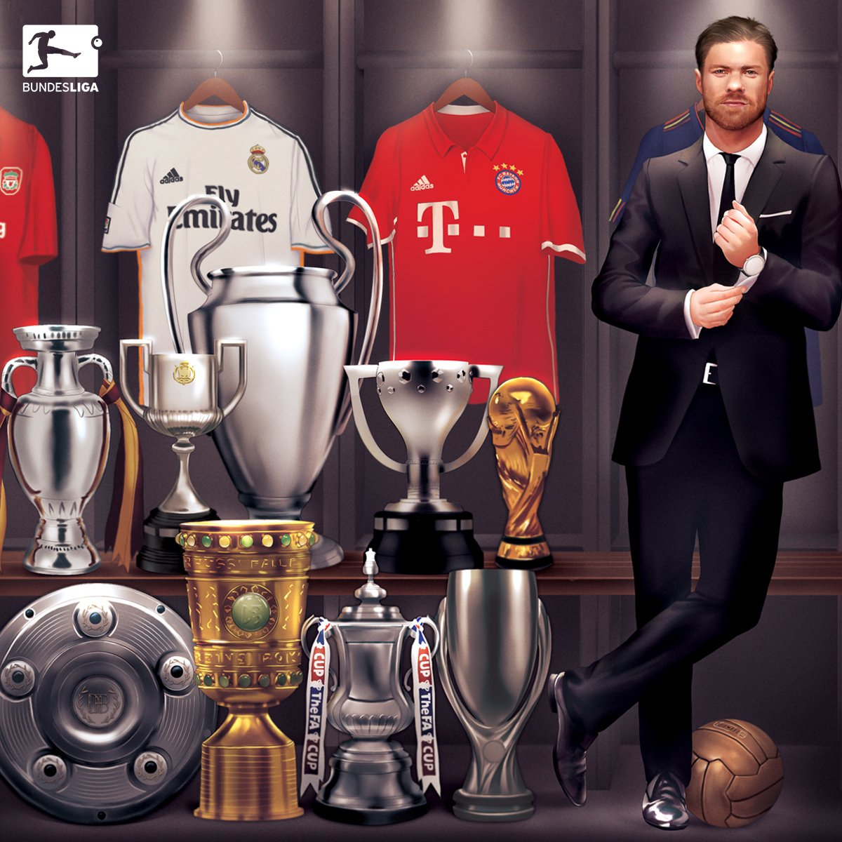 And this might just be the coolest graphic I&#39;ve ever seen #GraciasXabi #Bundesliga <br>http://pic.twitter.com/jipXYZcINu