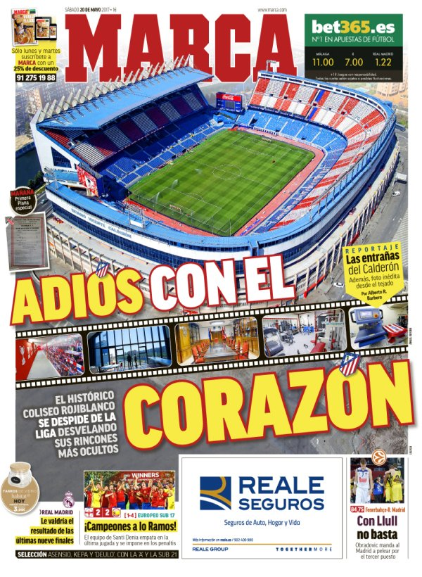 I would like to have access to @marca in Hungary for the frontpages like this alone. #Calderón #Atleti<br>http://pic.twitter.com/YbVE3xOGKw