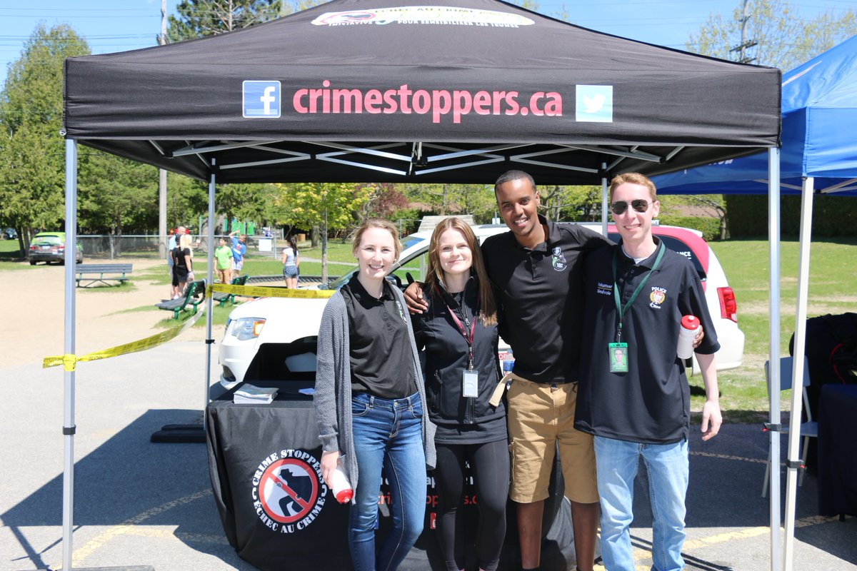 @CrimeStoppersOT @NCACSYouth #Volunteers had a fun time during #PoliceWeekON event today.  Appreciate our team &amp; policing partners. <br>http://pic.twitter.com/BWcUHijgqK